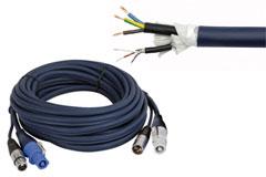 Kombineret 230V & signal kabler