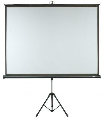 """DMT projektor lærred 4:3 trefods på 84"""""""