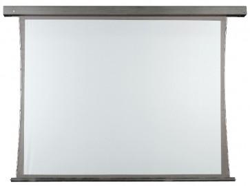 DMT bagprojektions-lærred 4:3 elektrisk 2,4x1,8 m.