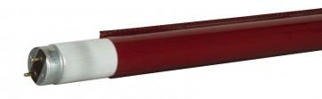 Farvefilter til 120cm lysstofrør - lys rød