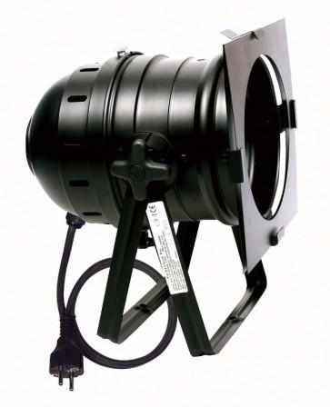 Par 64 gulvspot - sort - 500/1000W