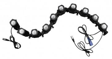 Cobra Strip Aktiv fleksibel stageblinder 10x50W