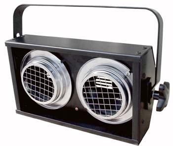 Stage Blinder 2 DMX - 2 x 650W, sort