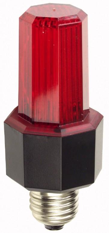 Showtec Easy Flash strob med E27 fatning - rød
