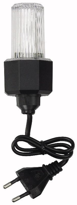 Showtec Easy Flash strob med strømkabel - hvid