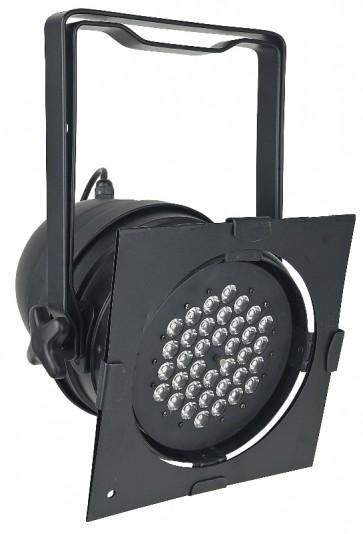 LED Par64 kort DMX med 36x3 watt LED dioder, blank