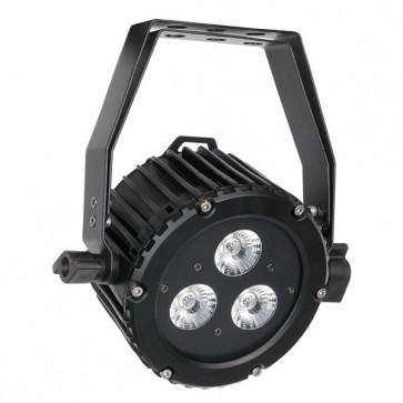 LED Power Spot DMX med 3x10 watt 5-i-1 LED dioder