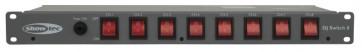 Showtec DJ-Switch 8 - tænd/sluk panel - 8 kanaler
