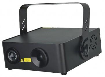 Galactic ColorStar Laser 140mW og 3W RGB LED