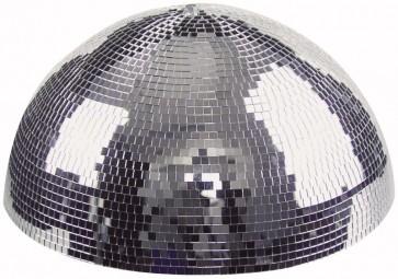 Halv 30 cm spejlkugle/diskokugle m. motor