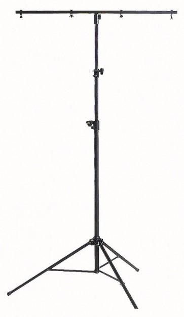 Lysstativ med T-bar - 2,2 mtr.  max. 15 kg