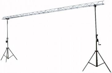Stativsæt m. 3x2mtr trekantbro - max 3m høj / 60kg