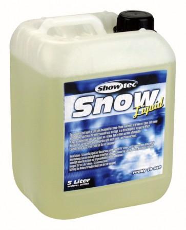 Showtec skum/sne væske - 5 ltr.- klar til brug