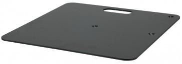Wentex baseplate 450x450mm sort