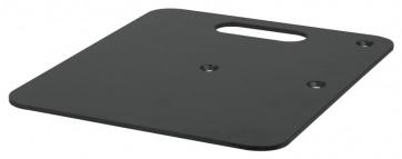 Wentex baseplate 600x600mm sort