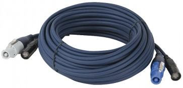 Powercon & Ethercon kabel - 50cm