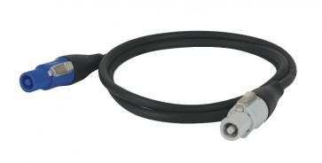 Neutrik Powercon kabel in/out 3m. - 3x1,5mm2