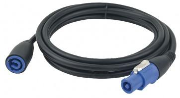 Powercon input forlængerkabel 3x1,5mm2 - 10m.