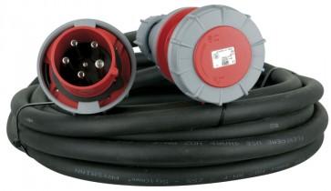 Forlængerkabel CEE400V/63A - 25 mtr. 5x10mm2