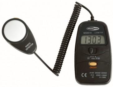 Showtec Digital Luxmeter inkl.etui +/-5% præcision