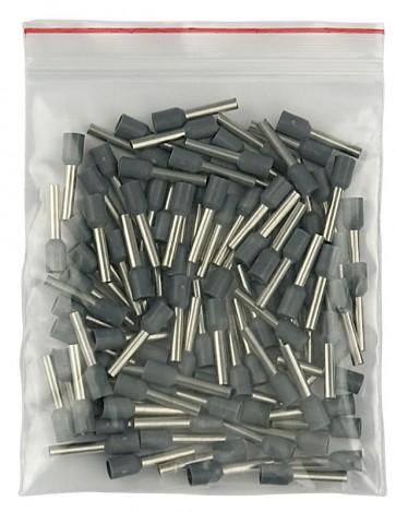 Showtec terminal 2,5mm2 - 12mm grå, 1000 stk.