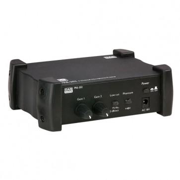 DAP PRE-202 - 2 kanals mikrofon pre-amp