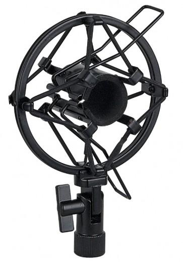 Anti Shock Mikrofon Holder,22-24 mm Sort