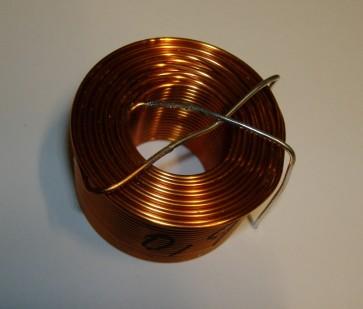 0,9 mH luftspole, 1,2 mm tråd