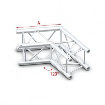 Deco bro firkant 22x22 cm - 120 grader hjørne