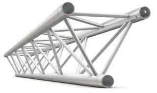 Deco bro trekant 22x22 cm - 300 cm lang