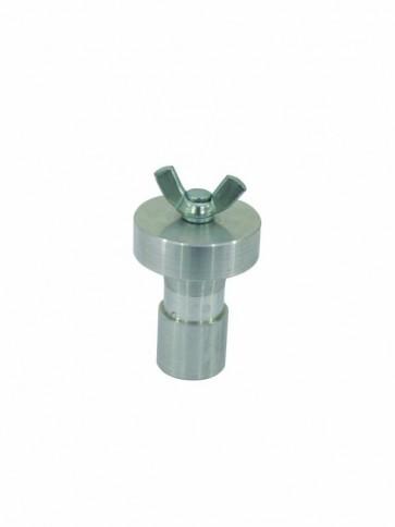 Spigot adaptor til stativ Ø28m - m. 10mm vingebolt