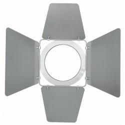 Barndoor til Stage-beam MKII 2000W, sølv