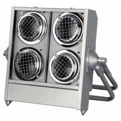 Stage Blinder 4 DMX - 4 x 650W, blank