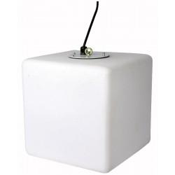 LED Cube lampependel - terning 30x30cm DMX