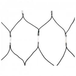 LED lyskæde net varm hvid 2x3m 228 pærer