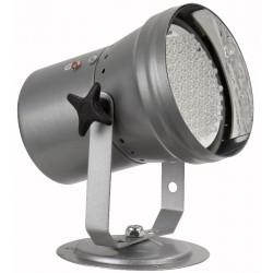 LED pinspot DMX med 66 LED dioder, blank