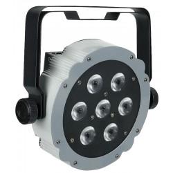 Hvid LED Compact Par DMX med 7x2 watt 2-i-1 LED