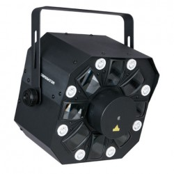 Showtec Dominator 3-in-1 DMX laser/effekt/strobe
