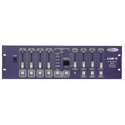 Showtec Lite-4 - 4 kanals DMX lysstyring