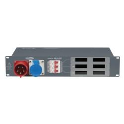 PSA-16A3C 400V/16A CE distribution Amp-& Voltmeter
