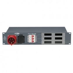 PSA-16A3S 400V/16A schuko dist. Amp-& Voltmeter