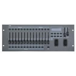 SM16/2 DMX Scanner styring med PAN/TILT-hjul