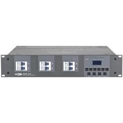 Showtec DDP-610S DMX dæmper 6x10A schuko stik