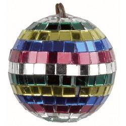 5 cm spejlkugle med farvede spejle