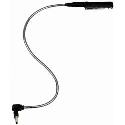Showtec LED svanehalslampe med USB - blå