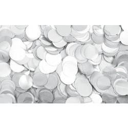 Showtec rund konfetti 1 kg hvid