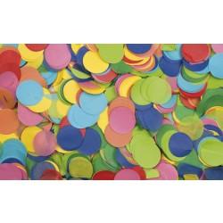 Showtec rund konfetti 1 kg multifarvet