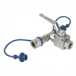 CO2 3/8 Q-lock kobling med hane