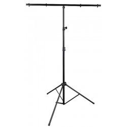 Lysstativ med T-bar - 2,5 mtr.  max. 10 kg