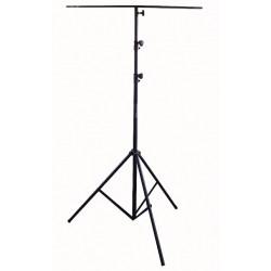 Lysstativ med T-bar - 3,6 mtr.  max. 15 kg